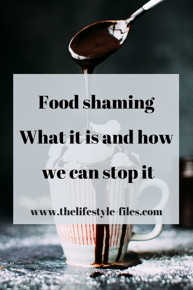 Food judging and food shaming are part of our daily lives now. Here's why we all need to stop it.