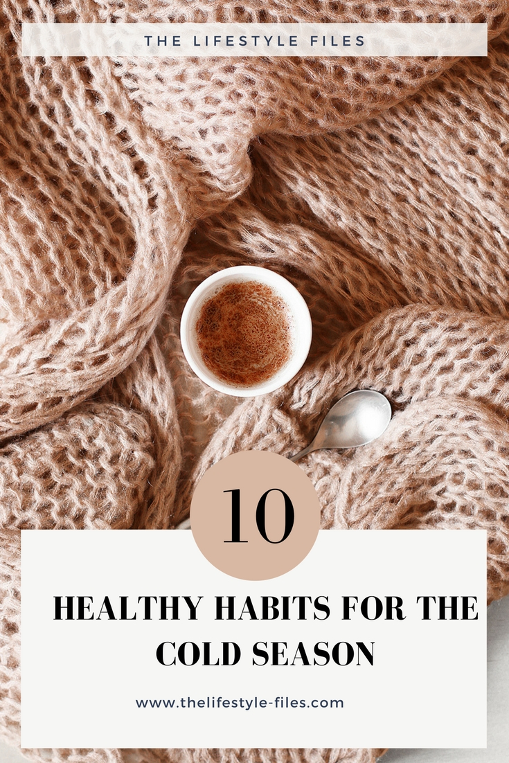 healthy habits for winter