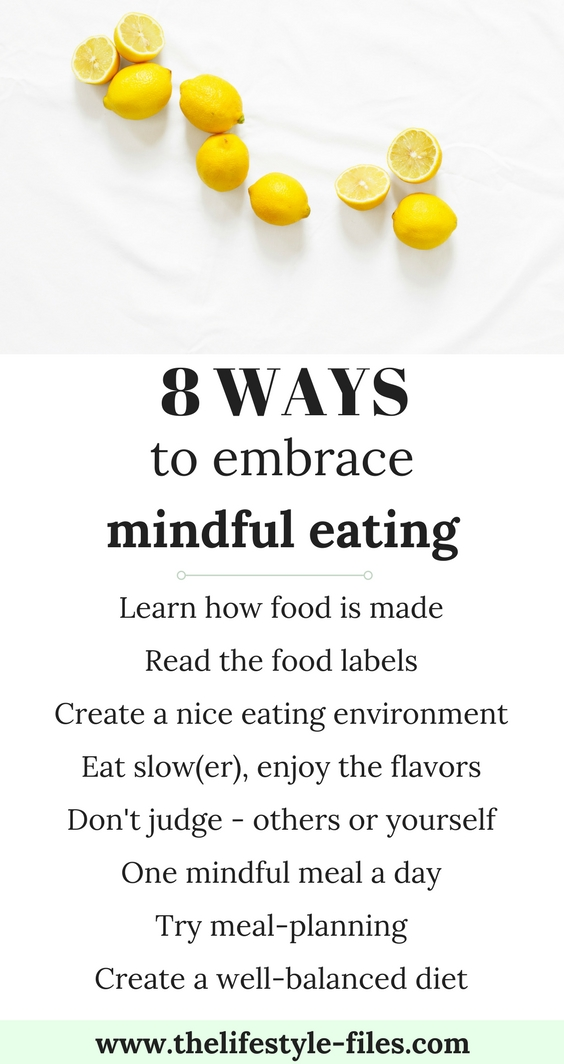 A beginner's guide to mindful eating - The Lifestyle Files