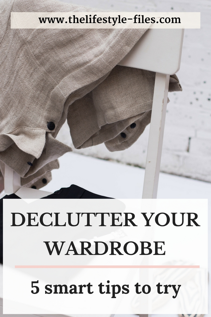 How to declutter your wardrobe decluttering / organizing / minimal fashion / capsule wardrobe