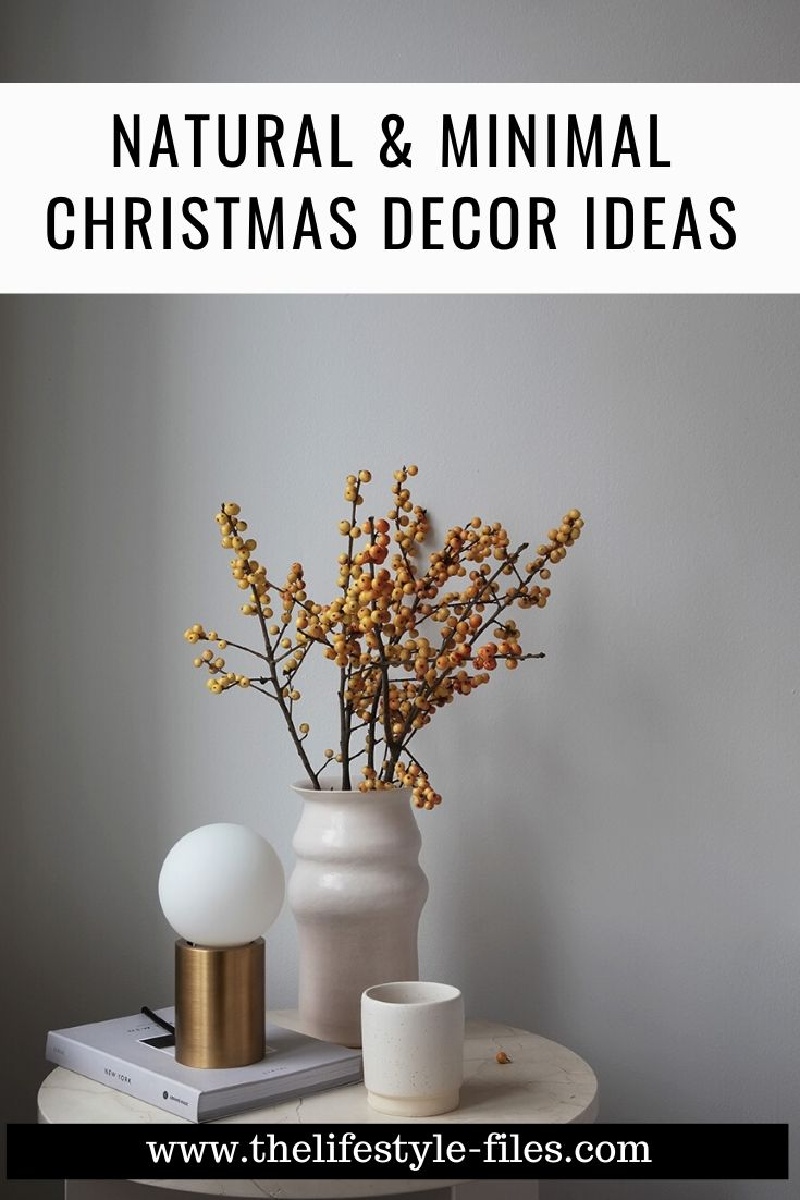 natural Christmas decor inspiration