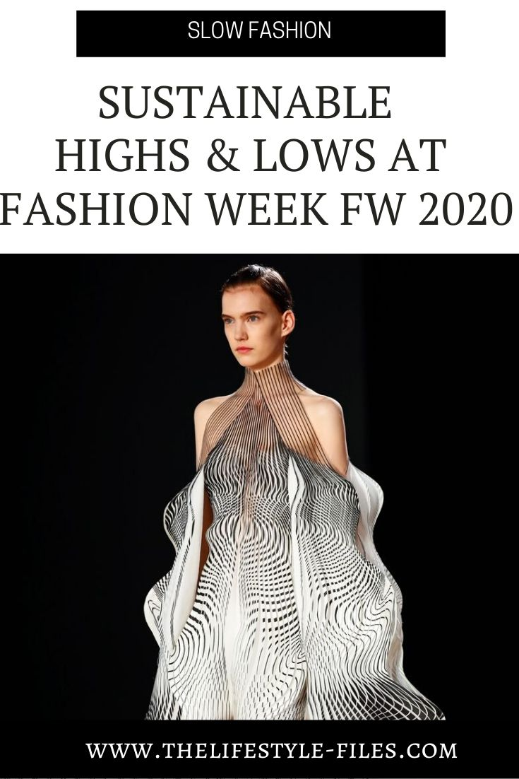 How sustainable were the FW Fashion Weeks 2020?